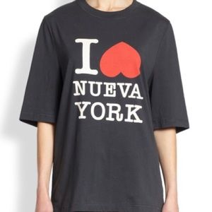 "3.1 Phillip Lim ""I love Nueva York"" New York shirt"